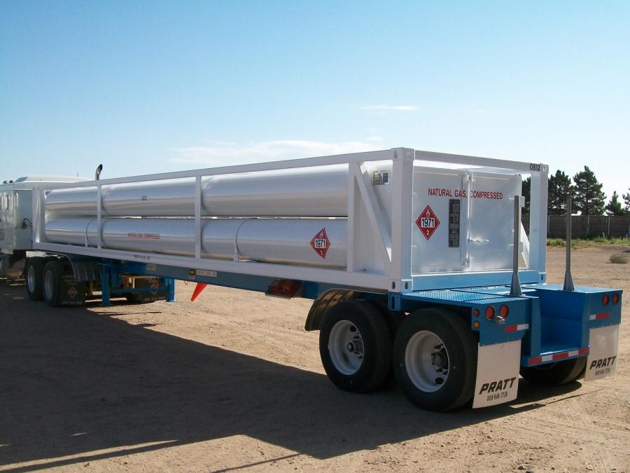 8 Tube MEGC ISO Container 40ft