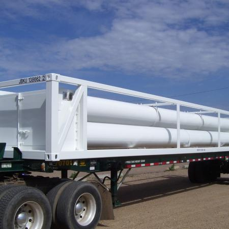 5 Tube MEGC ISO Container 40ft