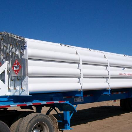53 Tubes Multi Tube Trailer