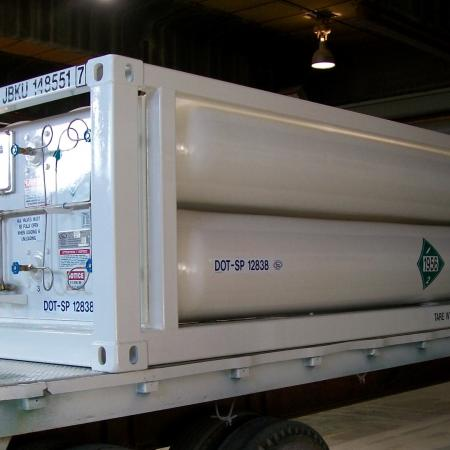 8 Tube MEGC ISO Container 20ft