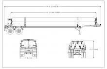 CNG TUBE TRAILER - 7 TUBE ISO 11120 2755 PSI 40 FT E&NE Gas (5)