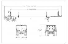 CNG TUBE TRAILER - 8 TUBE ISO 11120 2538 PSI 36 FT E&NE Gas (1)