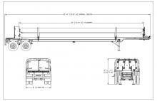 CNG TUBE TRAILER - 8 TUBE ISO 11120 2755 PSI 40 FT E&NE Gas (1)