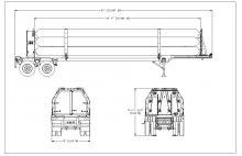 HELIUM TUBE TRAILER - 10 TUBES DOT 3T 2400 PSI 34 FT 4 IN (5)
