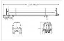 HELIUM TUBE TRAILER - 10 TUBE ISO 11120 3167 PSI 40 FT NE Gas Only (1)