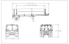 HELIUM TUBE TRAILER - 8 TUBE ISO 11120 3161 PSI 18 FT 6 IN NE Gas Only (1)