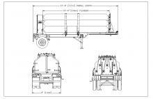 HELIUM TUBE TRAILER - 9 TUBE ISO 11120 3161 PSI 18 FT 6 IN NE Gas Only (5)