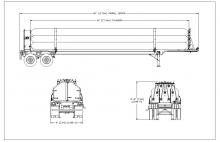 HELIUM TUBE TRAILER - 9 TUBE ISO 11120 3167 PSI 40 FT NE Gas Only (5)
