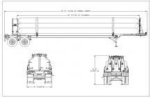 OXYGEN TUBE TRAILER - 9 TUBES DOT 3T 2400 PSI 40 FT (1)
