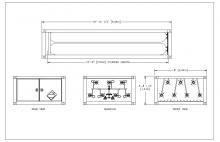 HYDROGEN MEGC - 7 TUBES UN ISO 11120 3625 PSI 18 FT 6 IN E&NE Gas (1)