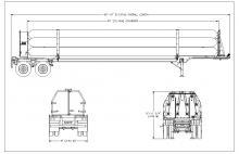 HELIUM TUBE TRAILER - 10 TUBES DOT 3T 2850 PSI 40 FT (6)